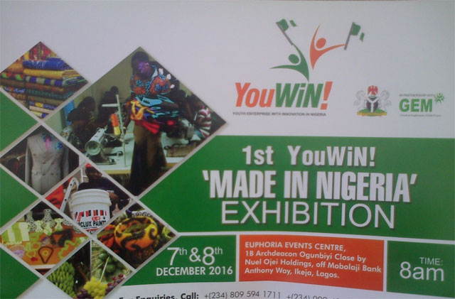First YouWiN Made in Nigeria Trade Exhibition