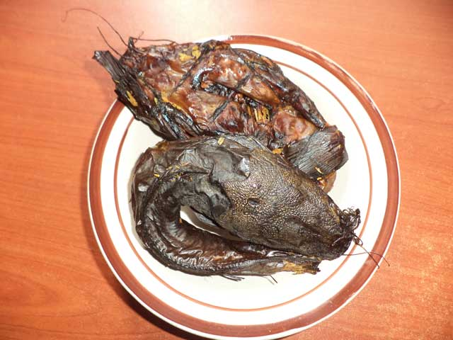 Divine Fish Farm smoked and dried catfish