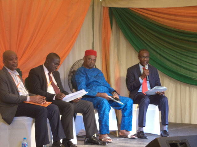 Youwin Made in Nigeria Trade Exhibition - Discussion panel by representatives from government department and agencies